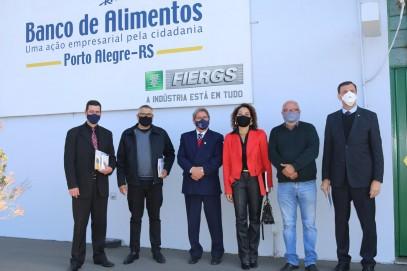 CRCRS e Banco de Alimentos: uma parceria solidária!