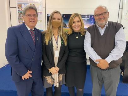 Vereadora Mônica Leal visita Banco de Alimentos e Bancos Sociais da FIERGS